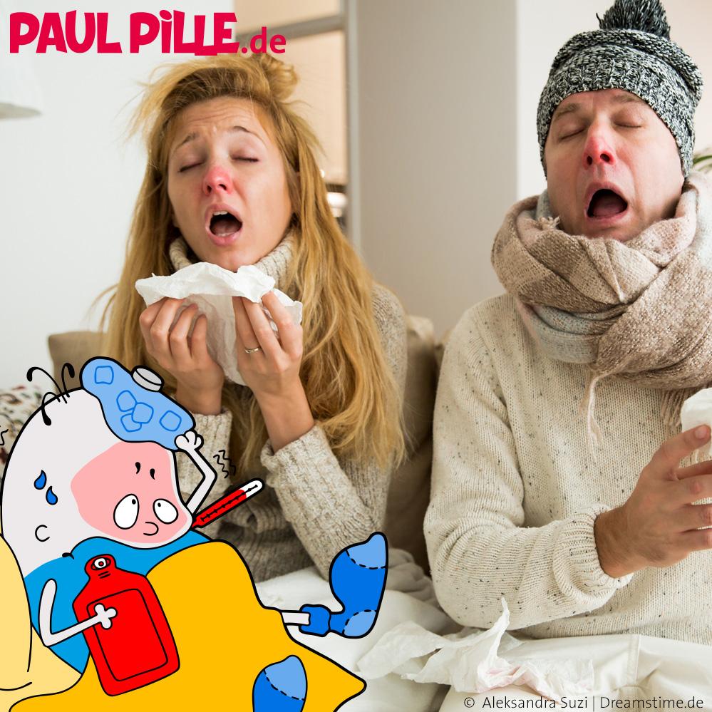 Nase, Kopf und Hals, Paul geht es sch...