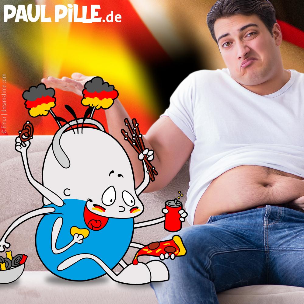 Chips  und Brause – Paul wird zum Ball
